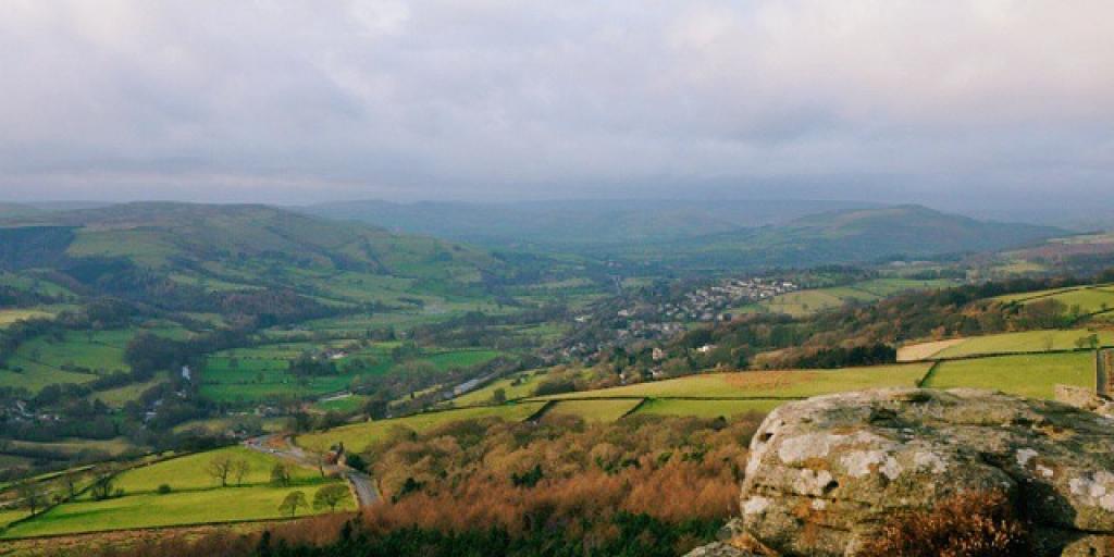 peak district view